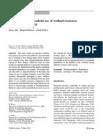 Publication 1 Wetland & Livelihood