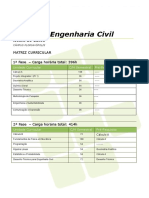 Matriz Curricular ENG CIVIL 2014