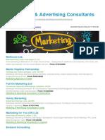 Marketing Advertising Consultants BizHouse.uk