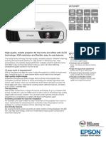 Epson EB-X31 XGA 3200 Lumens 3LCD Portable Projector