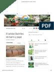 El Adobe (Ladrillos de Barro y Paja) - Ecocosas