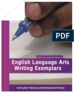 CAC ELA Writing Exemplars 2015 Final