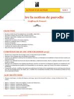 « Construire la notion de parodie », Geoffroy de Pennart, séquence pédagogique cycle 2