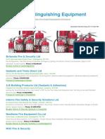 Fire Extinguishing Equipment BizHouse.uk