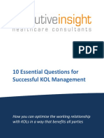 10essentialquestionsforsuccessfulkolmanagement-120404040733-phpapp02