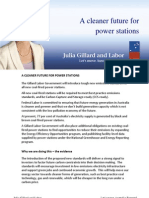Cleaner Power Stations - Fact Sheet