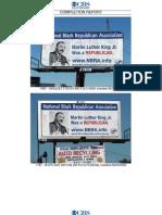 Martin Luther King billboards, Denver Aug '08