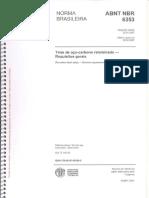 NBR 06353 - 2007 - Tiras de Aço Carbono Relaminado