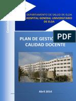 01. Plan Gestion Calidad Docente Elda_2014