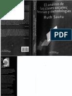 Sautu, R. (2011). El análisis de las clases sociales