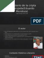 El Misterio de La Cripta Embrujada Jorge Astorga Ybarra