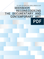 Reconsidering the Documentary and Contemporary