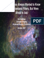 Narrowband Filters