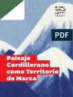 WIP Paisaje Cordillerano Como Territorio de Marca