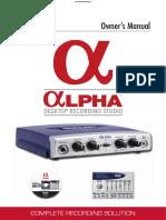 Lexalpha Manual