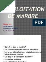 Exploitation Du Marbre.