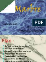 Marbre Présentationapres Modification