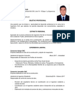 CV Julio Cesar Silva Ocas