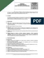 SIGMASS EG 10 01 Estandar Equipo de Proteccion Personal