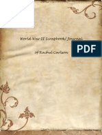 World War 2 Scrapbook