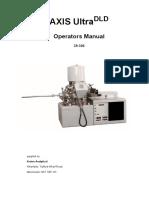 AXIS UltraDLD - Operators Manual