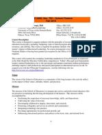 SYL_EDLD_6360 - School Finance, William Allan Kritsonis, PhD