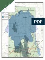 Black Fork Subdistrict Map