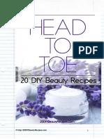 Beauty Recipes eBook