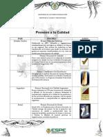Premios Calidad