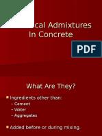 Admixtures (1)