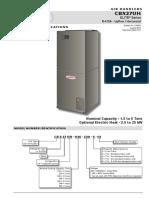 Lennox Cbx27uh Air Handler Data
