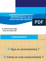 Conceptos Axiologicos y Metodológicos UPT