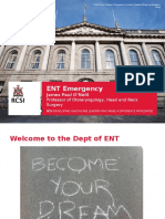ENT Emergencies