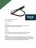 adaptador plastico porta visor