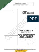 Plan de Dirección Del Proyecto 2017