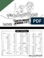 Cartes Images Loustics 1 Et 2 - n&b
