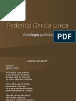 Antología de poemas de Federico García Lorca
