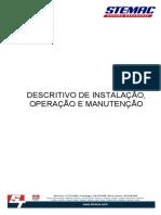 Descritivo de Instalação, Operação e Manutenção Geradores Stemac