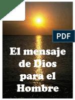 El Mensaje de Dios Para El Hombre