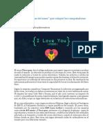 04-05-I Love You, El -Virus Del Amor- Que Colapsó Las Computadoras Del Mundo