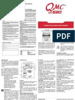 QMC 680 Manual