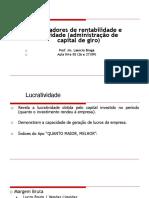 Indices de Rentabilidade (Aula 4 e 5) 222
