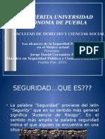 Conferencia Los Alcances de La Seguridad Pública en El México Actual