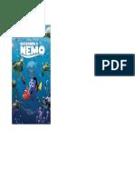 Portada Buscando a Nemo Dvd