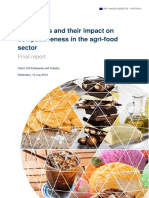Food Taxes and Their Impact on Competitiveness in the Agri-food Sector