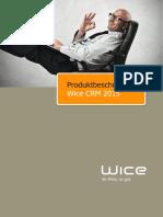 2015 Produktbeschreibung Wice CRM