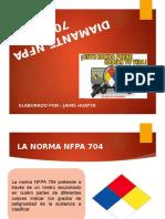 Diamante Nfpa 704
