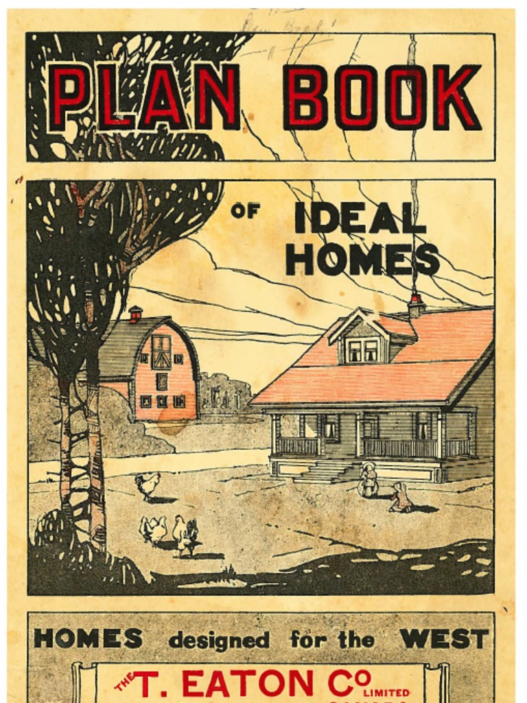 Eaton-Plan-Book-of-Ideal-Homes pdf | Lumber | Window