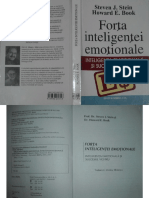 Steven Stein Howard Book Forta Inteligentei Emotionale PDF