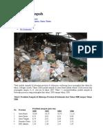 Statistik Sampah